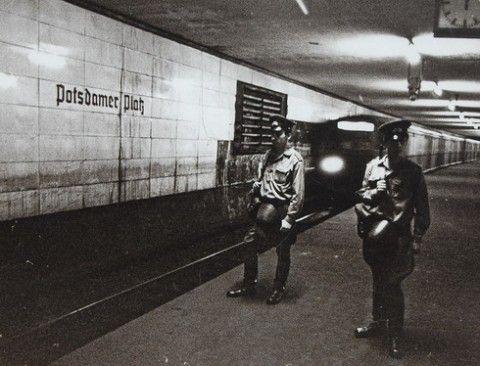 The underground Berlin Wall