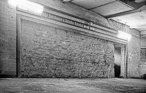 underground Berlin Wall - Stephen J. Chancellor
