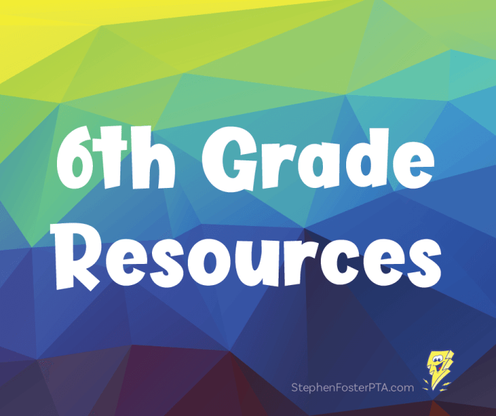 6th Grade Resources