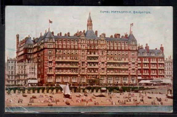 Image result for brighton metropole hotel postcard