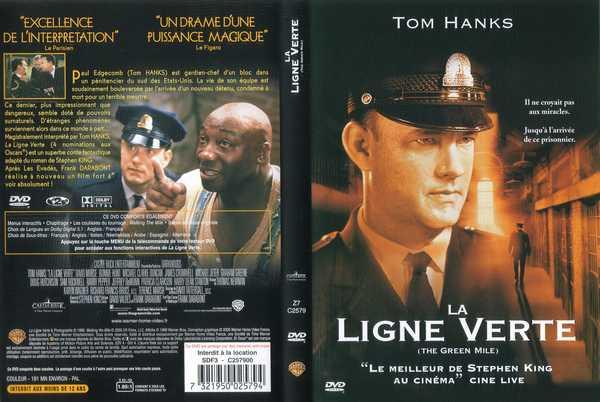 Jacquette du DVD de La Ligne Verte
