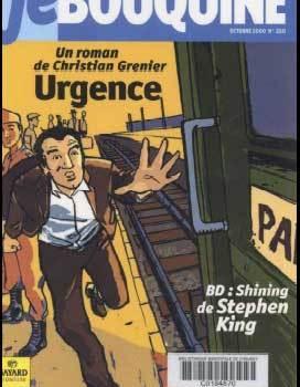 """2000 - BD de shining chez """"je bouquine"""""""