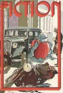 """Le justicier dans la revue """"Fiction"""""""