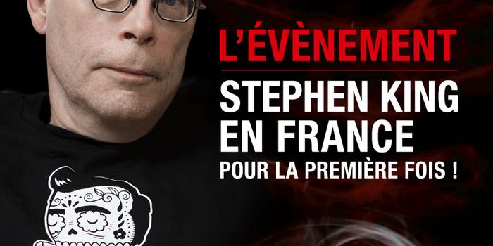 Stephen King au Grand Rex le 16 Novembre 2013 à 20h30