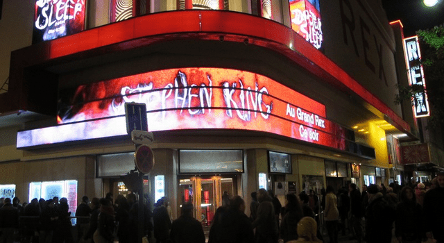 Stephen King au Grand Rex et avant