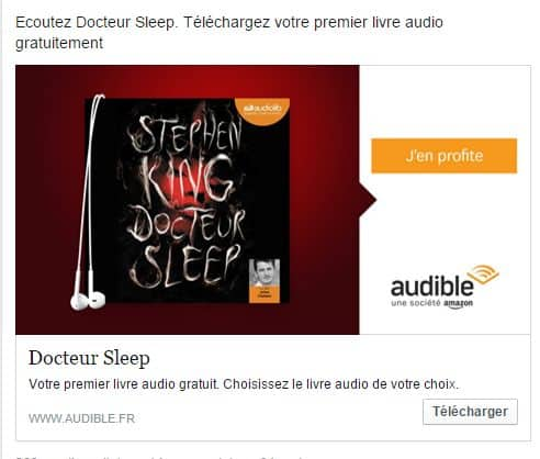 Docteur Sleep en audiobook gratuit.