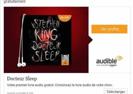 Docteur Sleep En Audiobook Gratuit Stephen King