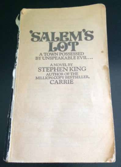 'Salem's Lot Paperback No Cover