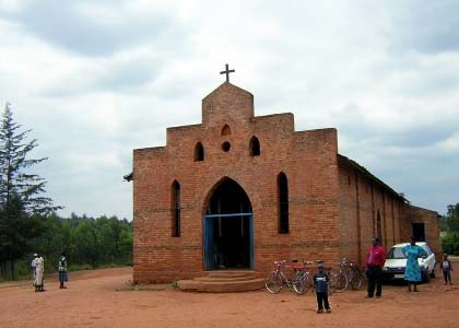 Image result for church rwanda