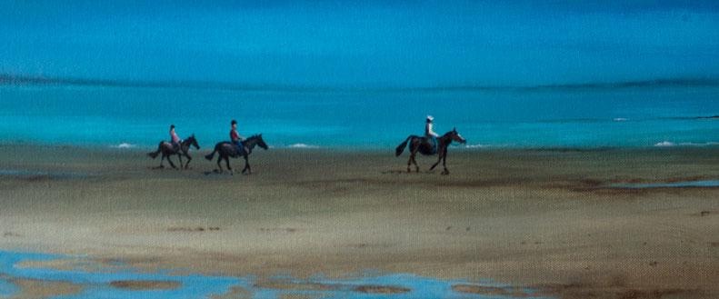 Stephen Murray Art Scottish Painter Landscape Beach