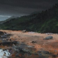 Loch Ness Scotland by Scottish Landscape artist Stephen Murray