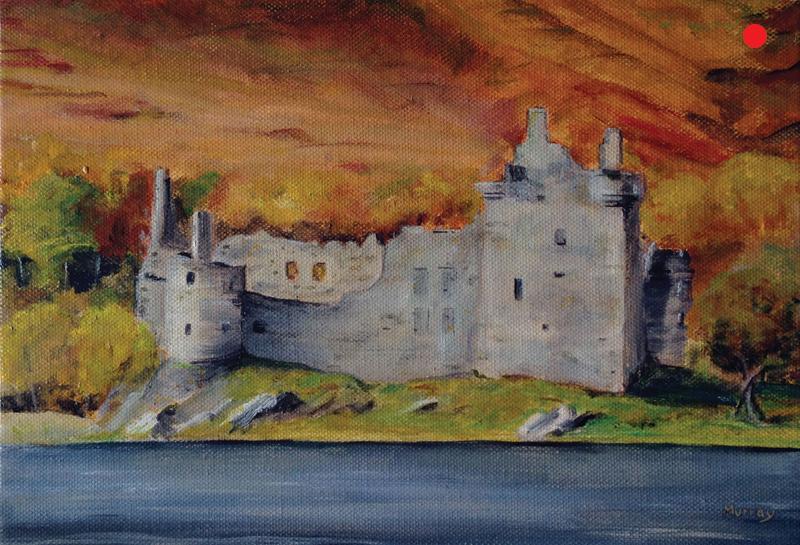 kilchurn castle loch awe stephen murray