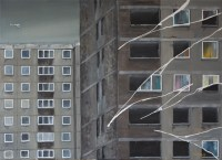 Sighthill Tower Block Stephen Murray Art