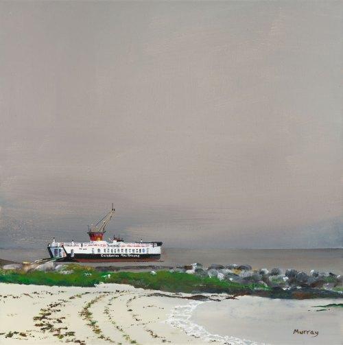Gigha Ferry Stephen Murray Art
