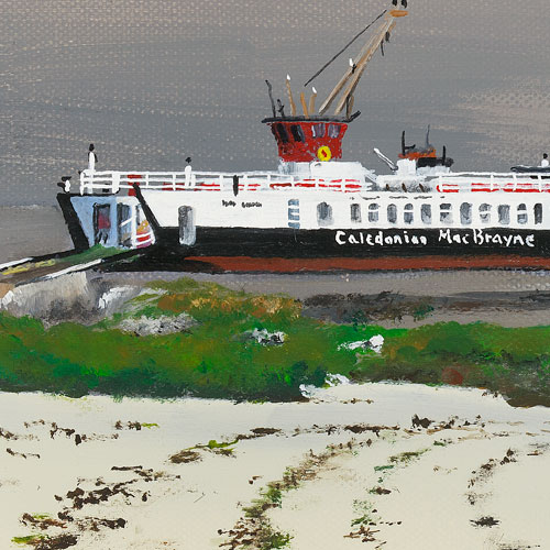 Gigha Ferry Stephen Murray Art