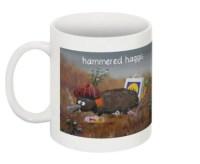 Hammered Haggis Mug