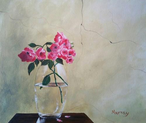 Vase & Flowers Still Life - Stephen Murray Art