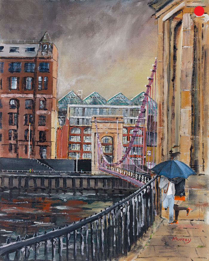 Suspension Bridge, Glasgow