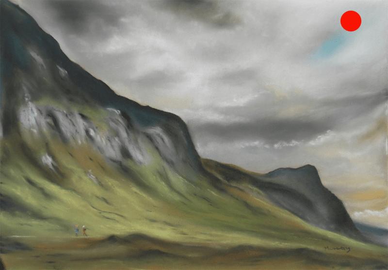 Moody Skies, Glencoe, Scotland