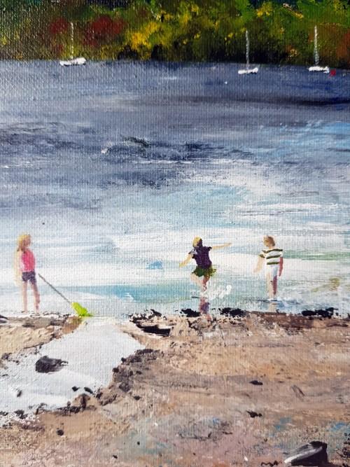 Milarrochy Bay, Loch Lomond Stephen Murray art