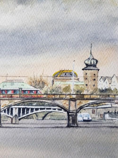 Vltava River, Prague, Czech Republic. Stephen Murray Art