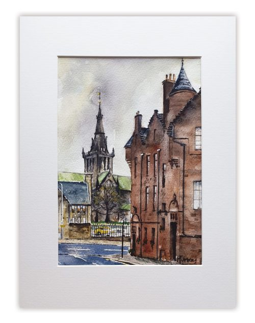 Glasgow Cathedral Stephen Murray Art