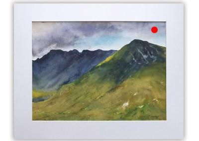 Kintail Mountains, Scotland