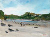 Silver Sands Moray Scottish Highlands Landscape Painting