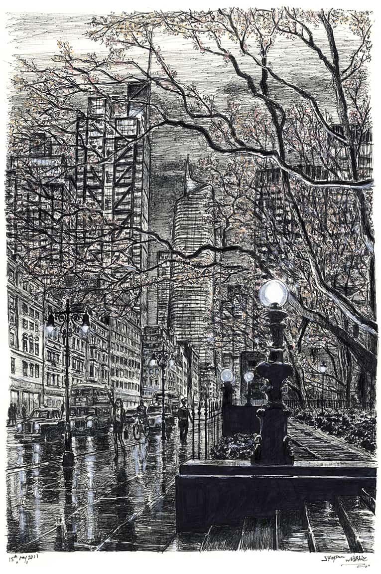 London Metropolis - drawings and paintings by Stephen Wiltshire MBE