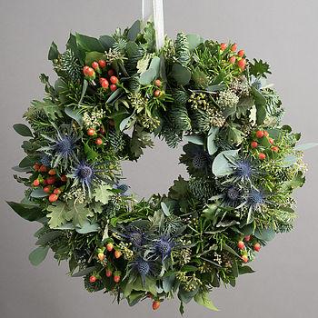 notonthehighstreet-highland-festive-wreath