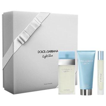 Dolce & Gabbana Light Blue Pour Femme 50ml Eau de Toilette for Women Fragrance Gift Set