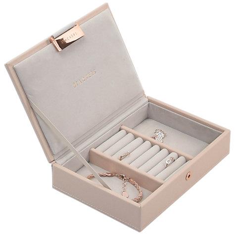 Stackers Mini Jewellery Box Lid, Blush Pink