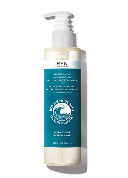 REN Atlantic Kelp and Magnesium Anti-Fatigue Body Wash - Ocean Plastic Edition
