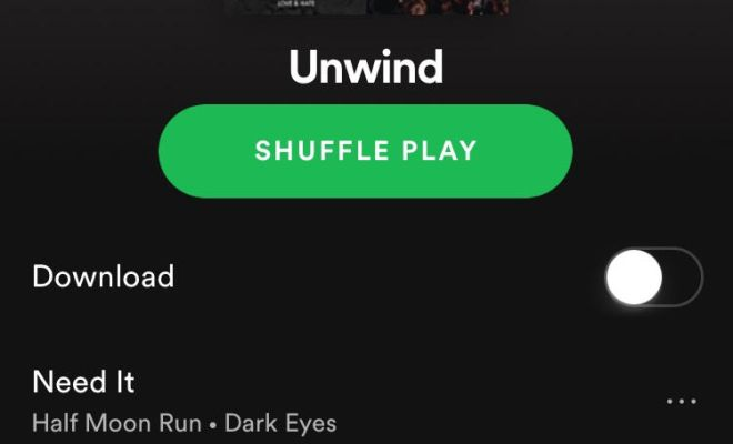 Unwind Music Playlist!