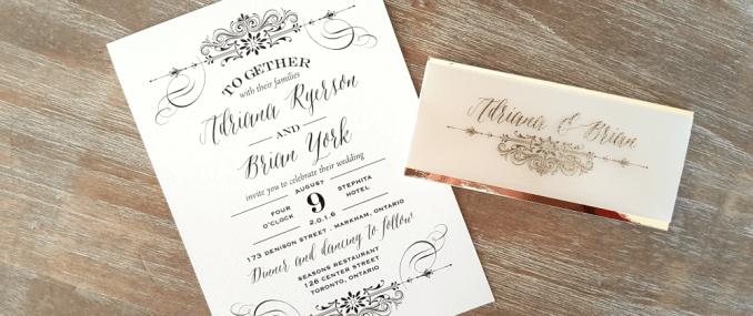 Wedding invitation cards toronto newsinvitation toronto wedding stationery wedding invitations toronto affordable filmwisefo
