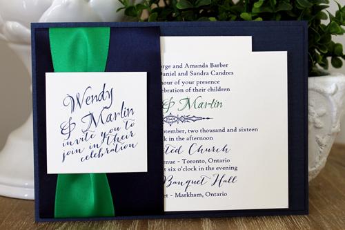 Custom Bridal Invitations Toronto