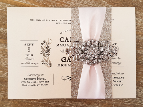 1613 3 99 Wedding Invitation