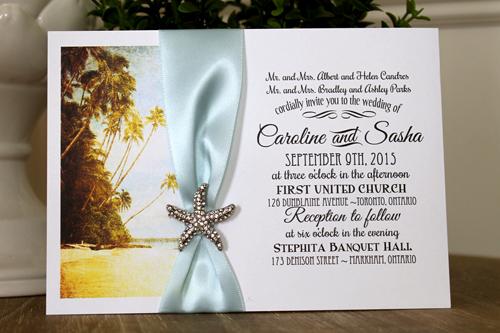 Toronto Wedding Invitations On Markham Ontario