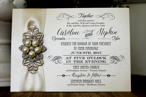 1312 4 79 Wedding Invitation