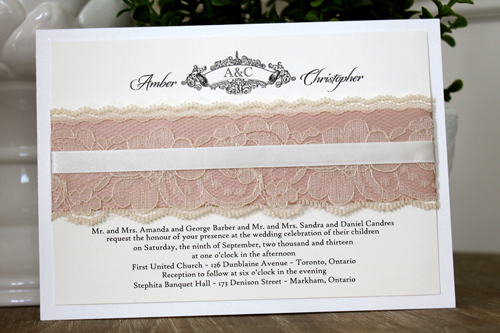 1103 4 39 Wedding Invitation