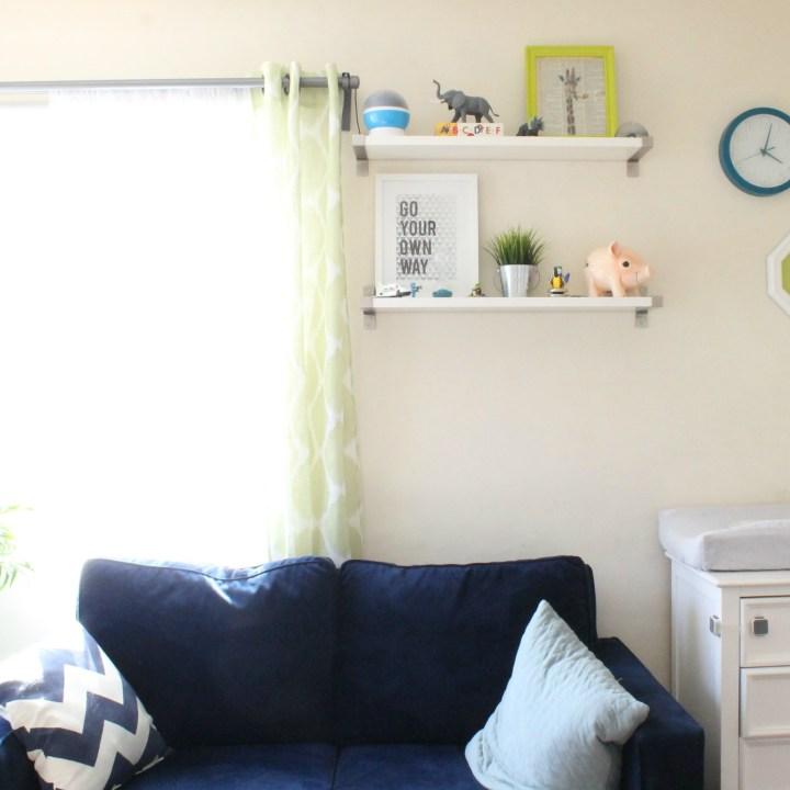 Talmadge Toddler Bedroom by Steph Piontkowski Interiors