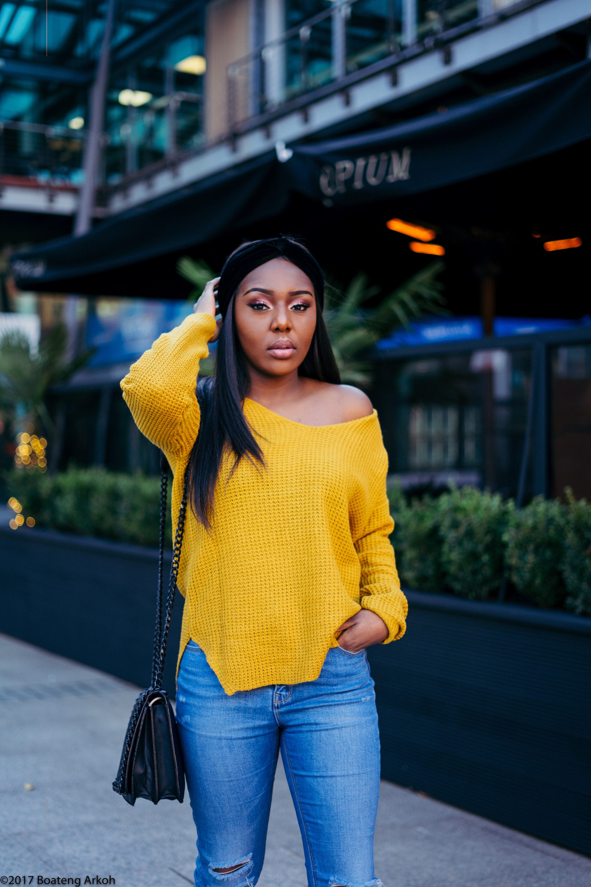 Sweater Outfit  Manchester Blogger   Stephylately