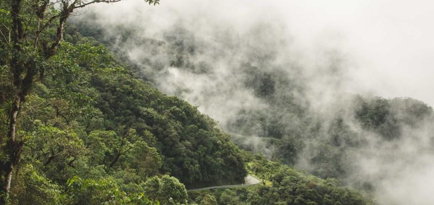 Trampolin de la Muerte – what's the Death Road of Colombia like?