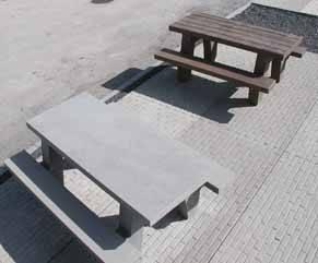 Concrete Picnic Tables Steps Plus Inc - Picnic table trailer