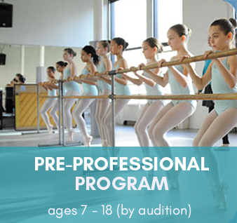 Pre-Professional Dance Program (ages 7-18, by audition)