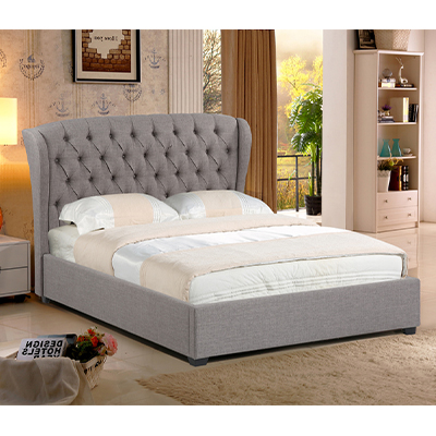 Hera 4 6 Fabric Double Bed Steptoes Furniture World