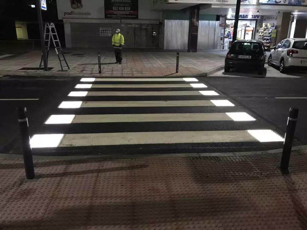 STEPVIAL - Pasos de peatones inteligentes Fuengirola (Málaga)