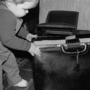 ventje met boekentas