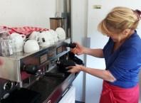 Heerlijke espresso, cappuccino of latte