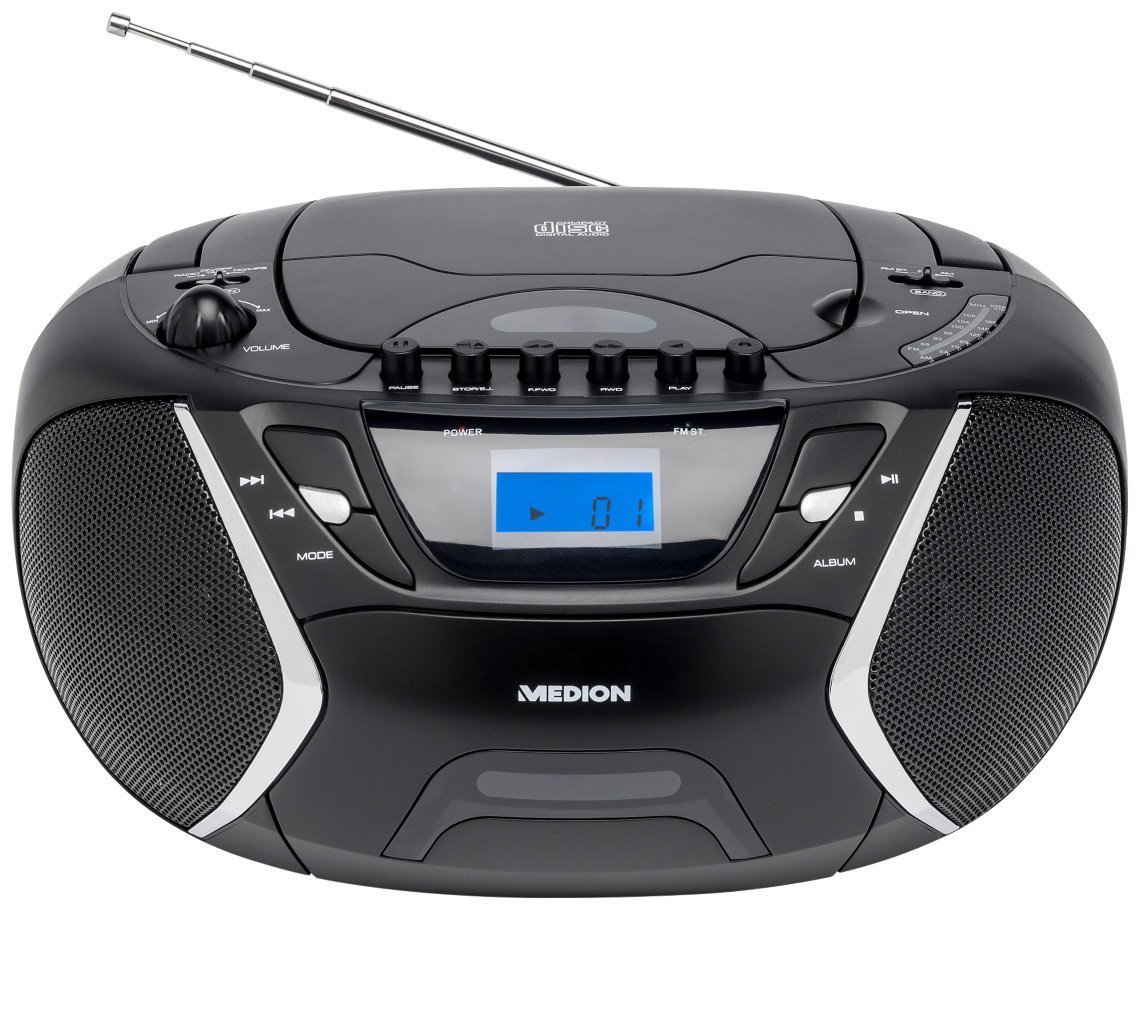 Medion Radiorekorder CD-Player mit MP3 Wiedergabe